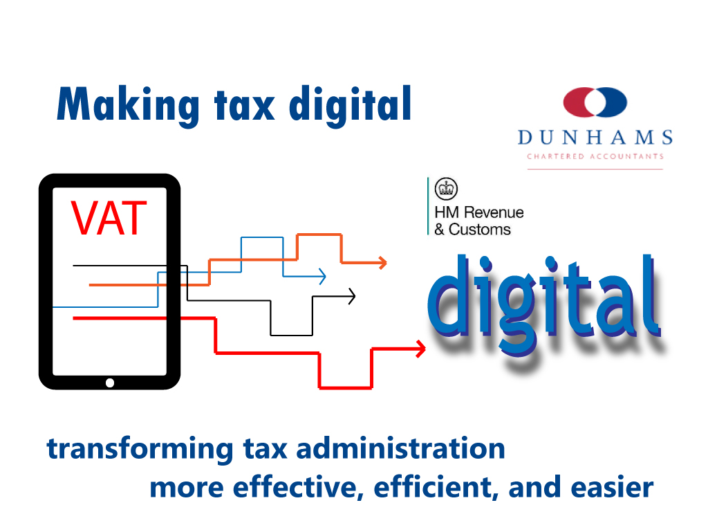 Making Tax Digital starts with VAT